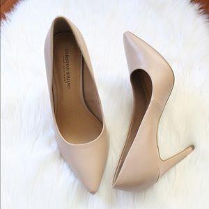 Christian Siriano blush pink heels